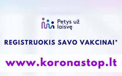 Lietuvoje startuoja vieninga registracijos sistema skiepams nuo COVID-19